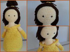 Cómo hacer a Bella en crochet, con patrón gratis www.lasmanualidades.imujer.com