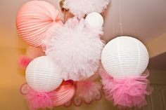 For Love of that Sillie Smile!!: Tutorial: Tulle Pom Poms