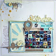 #papercraft #scrapbook #layout StuckOnUSketches: June 14 Die Cut post challenge and DT introductions!