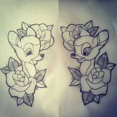 Best Disney Tattoos - i'm intending for this to be my first tattoo (possibly with different flower...