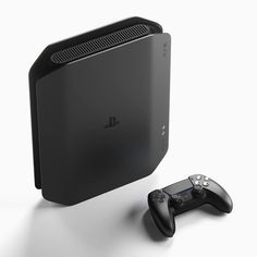 PS5 gets an all-black redesign that pays homage to the original PlayStation aesthetics Yanko Design, Sony Design, Id Design, Graphic Design, Machine Design, Famous Brands, Minimal Design, Apple Tv, Industrial Design