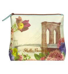 Buy Rendezvous Wash Bag from our Make-Up Bags range at John Lewis & Partners. We Make Up, Woman Within, Hello Beautiful, Printed Bags, Wash Bags, Travel Essentials, Cosmetic Bag, Traveling By Yourself, Coin Purse