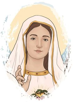 Jesus Mother, Blessed Mother Mary, Blessed Virgin Mary, Virgin Mary Art, Jesus Cartoon, Jesus Photo, Catholic Pictures, Church Logo, Christian Artwork