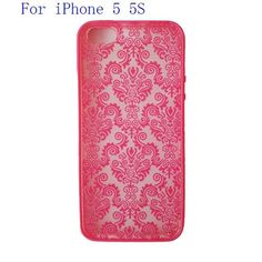 Min.order is $10 (mix order)For Apple iPhone 4 4S Rubberized Protector Damask Vintage Pattern Hard Case Cover EC127