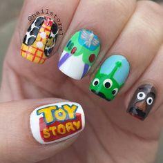 TOY STORY by nailstorm1 #nail #nails #nailart