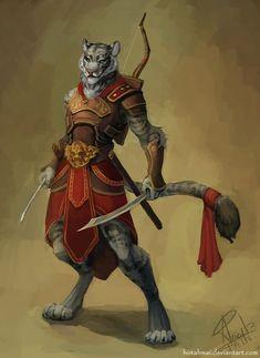 Dungeons & Dragons: Tabaxi (inspirational) - Imgur