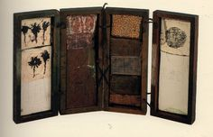 In make believe collection : Hannelore Baron - mixed media assemblage box by lisasolomondotcom Assemblage Art, Box Art, Found Object Art, Found Art, Bookbinding, Collage Art, Art Inspiration, Book Art, Altered Art