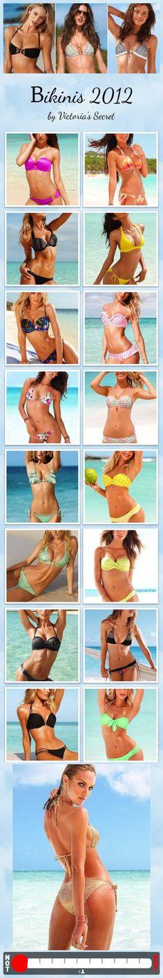 Bikinis 2012 by Victoria's Secret #fashion #summer #hot