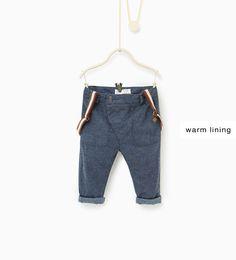 Image 1 de Pantalon à bretelles de Zara