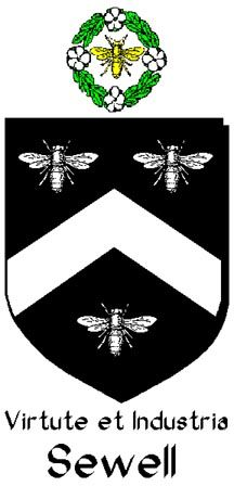 Sewell with bee crest