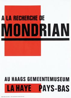 Posters(4) by Paul Schuitema - Haags gemeentemuseum