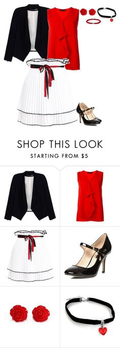 """""""Untitled #1938"""" by charactertickles ❤ liked on Polyvore featuring Alice + Olivia, Proenza Schouler, Akep and Dorothy Perkins"""