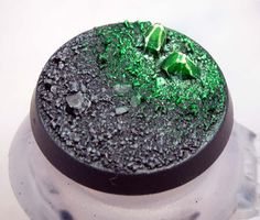 From the Warp: How to make simple Necron crystal bases