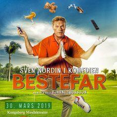 "Sven Nordin i komedien ""Bestefar"" - Tibuti Alter, Drama, Humor, Film, Movie Posters, Movies, Movie, Cheer, Film Stock"