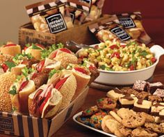 Now that is one good looking spread...LBP can help you recreate the restaurant experience at their next event