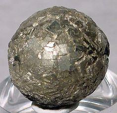 Pyrite Natural Sphere Crystal Specimen - China ✏✏✏✏✏✏✏✏✏✏✏✏✏✏✏✏ AUTRES MINERAUX - OTHER MINERALES ☞ https://fr.pinterest.com/JeanfbJf/pin-min%C3%A9raux-minerals-index/  ══════════════════════  BIJOUX ☞ https://www.facebook.com/media/set/?set=a.1351591571533839&type=1&l=bb0129771f ✏✏✏✏✏✏✏✏✏✏✏✏✏✏✏✏