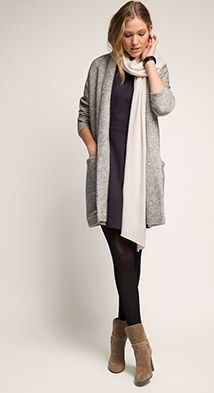 Esprit / Sweat Melange Cardigan