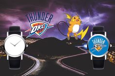 """Snaprinting #League 2017 #Season Approaching!!   """"When Lovely #Pokemons Bump Into #NBA Teams""""  --- #Celadon #City #Raichu  & #Oklahoma  #City #Thunders   Like our watch and original pictures? Contact us now!"""