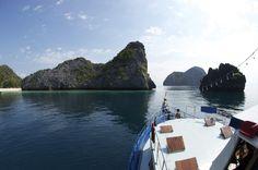 Cruising the mergui archipelago on MV Thai sea, awesome diving holidays http://www.thesmilingseahorse.com