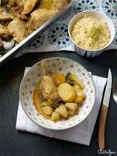 Couscous au poulet et légumes racines - Blog de Châtaigne