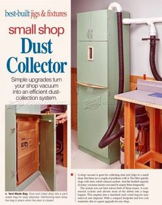 #1517 Small Shop Dust Collector - Dust Collection Tips, Jigs and Fixtures