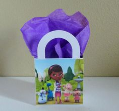 10 Doc Mcstuffins Favor Boxes Centerpieces by CutePartySupplies