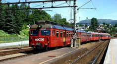 Train to Myrdal - Voss, Norway  Photo by Asa Jernigan
