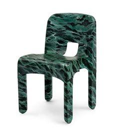 Chaise (model Joe Colombo's Universal Chair)(from The Redesign di sedie del movimento moderno) par Alessandro Mendini