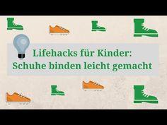 Wie habt ihr Schuhe binden gelernt? Wir haben drei Methoden für euch in einem Video zusammengestellt. Viel Spaß beim Nachmachen! 4 Kids, Baby Kids, Lifehacks, Mom Son, Read Later, Kids And Parenting, Little Ones, Preschool, Education