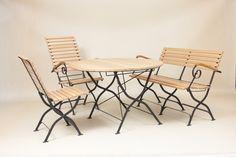 utemøbel sett i smijern Outdoor Chairs, Outdoor Furniture Sets, Outdoor Decor, Patio, Home Decor, Decoration Home, Room Decor, Garden Chairs, Home Interior Design