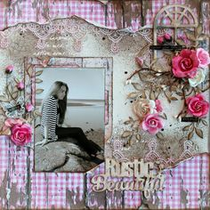 """Tina Marie - Forever and Always: """"Rustic Beautiful"""" Fabscraps- Industrial Chic collection"""