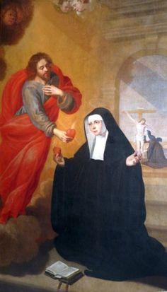 Cum Petro et sub Petro: Semper: Santa Lutgarda e o Sagrado Coração de Jesus   Santa Lutgarda, rogai por nós.
