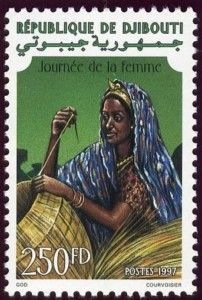 Day of the Women (1997), Djibouti Stamp