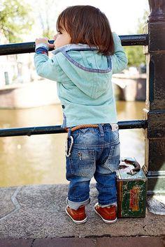 Babykleding zomer jeans van Babyface | Baby fashion | online op www.kienk.nl