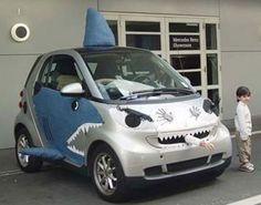 Voiture transformée pour Halloween ! #Halloween #voiture #vehicule #voitures #insolite #smart #car