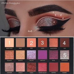 "1,747 Likes, 42 Comments - Alisa Makeup (@alisa.beauty.pro) on Instagram: ""Pictorial- Huda Beauty Desert Dusk Palette @hudabeauty @shophudabeauty lashes in style Farah…"""
