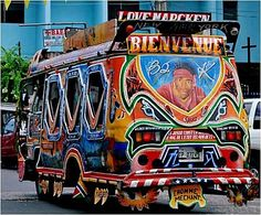 Haiti, tap tap bus