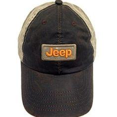 Weathered Cloth Jeep Wax Jeep Cap