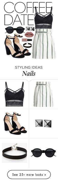 """""""Coffee date"""" by pluto-in-space on Polyvore featuring 3.1 Phillip Lim, Nasty Gal, Waterford, Express, Kester Black and CoffeeDate"""