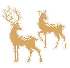 FREE printable deer