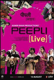 Peepli Live Full Movie Hd 1080P. An impoverished farmer's threat to end his life invites attention from politicians and media.