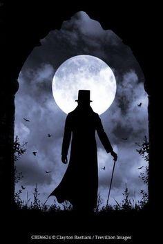 Dark Gothic, Victorian Gothic, Dark Fantasy Art, Dark Art, Dark Castle, Man On The Moon, Goth Art, Gothic Horror, Sherlock Holmes