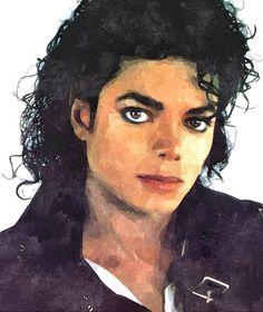 Michael - Jackson Art Print