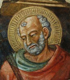 Bicci di Lorenzo - San Giuda Taddeo - Frammento di affresco - Museo Opera del Duomo, Firenze