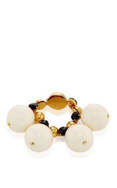 Lily White Strass Bracelet by MARNI for Preorder on Moda Operandi