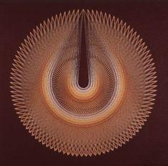 String Art Teardrop String Mandala