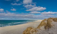 The beautiful Orrestranda beach in Jæren near Stavanger in Norway. Norway Beach, Stavanger, Natural Scenery, Beach Landscape, The Dunes, Sandy Beaches, Nature, Surfing, Vacation