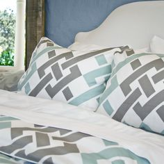 The Fillmore Blue: beautifully designed bedding at an affordable price point