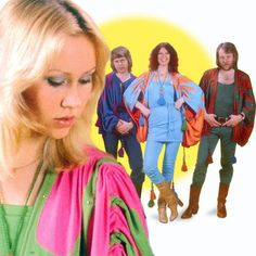 Agnetha is so gorgeous. Love ABBA too.