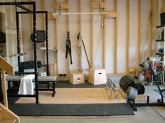 Lots of DIY in this great gym